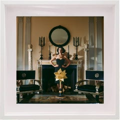 Paloma Picasso New York- Paloma and Star, Limited edition archival pigment print
