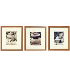 Indian Baskets - Set of 3 photographs