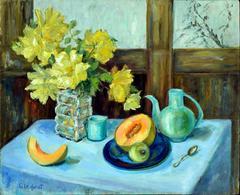 Yellow Roses & Tea
