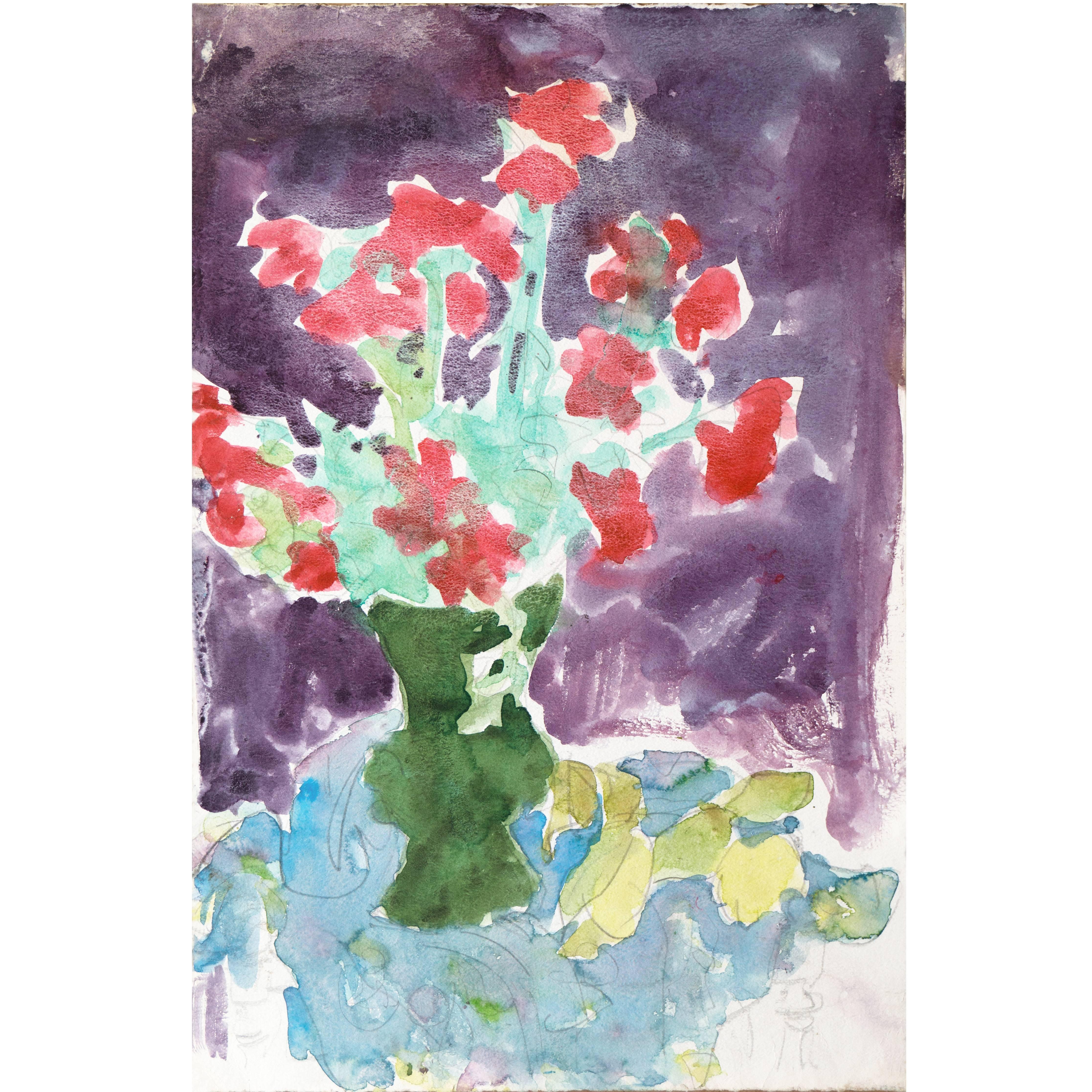 California Post-Impressionist 'Poppies', Louvre, LACMA, SFAA, Académie Chaumière