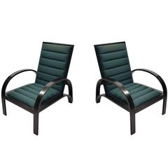 Pair of Chairs by Ward Bennett for Brickel