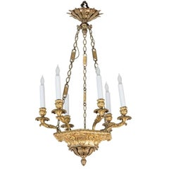 Petite, Second Empire Chandelier