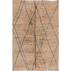 Simply Spectacular Modern Moroccan Rug