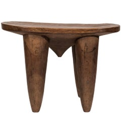 Large West African Stool