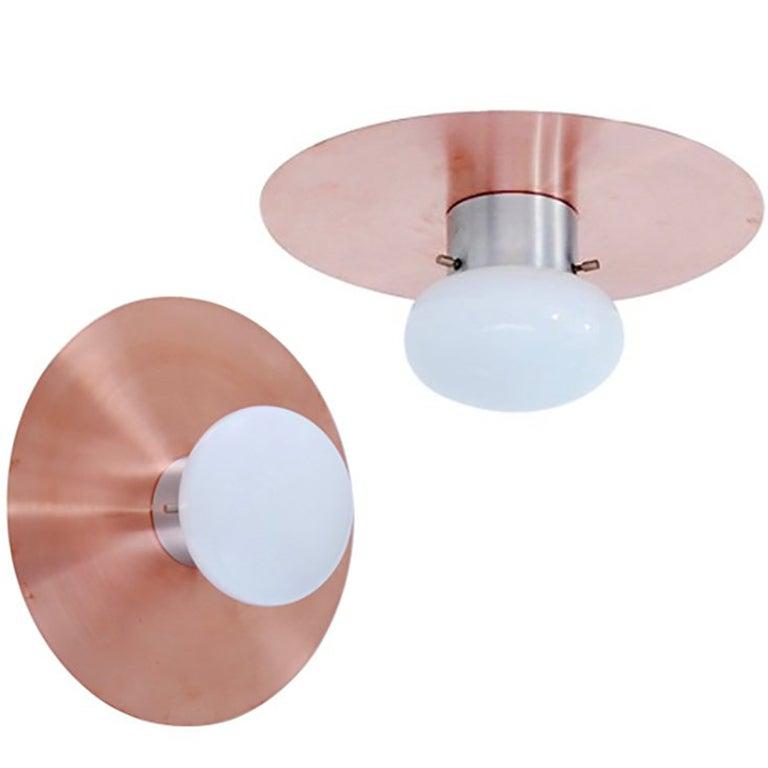 Copper Flush Mounts or Sconces