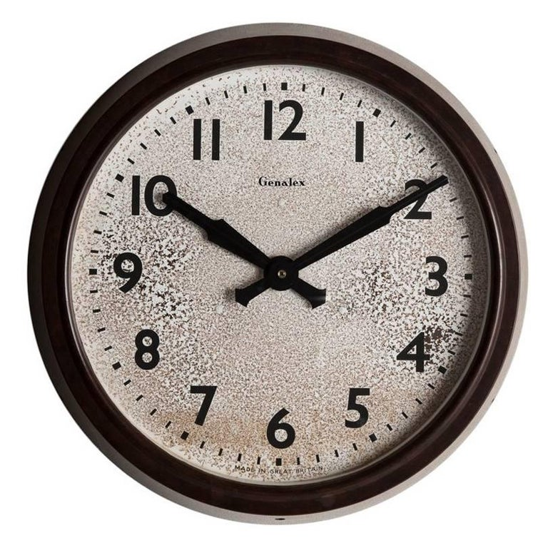 Genalex Station Clock, circa 1930
