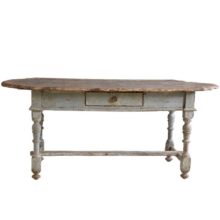17th Century Rustic Farmhouse Table