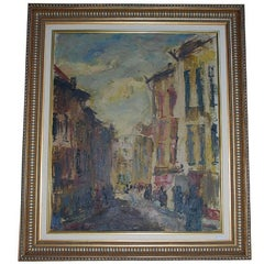 20th Century Expressionism Oil on Canvas by Alphonse Vermeir