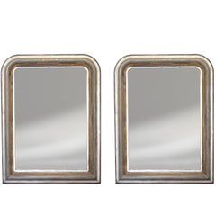 Pair of 19th Century French Louis Philippe Mirrors