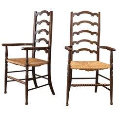 Unique Ladder-Back Chairs