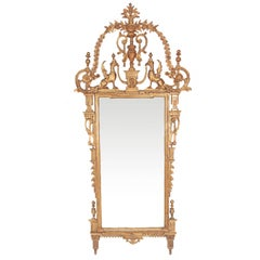 A Large 18th Century Italian Neoclassical Mirror