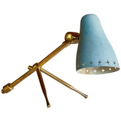 1950s Jean Boris Lacroix Table or Wall Lamp