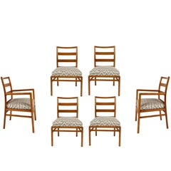 Set of Six Dining Chairs by T. H. Robsjohn-Gibbings