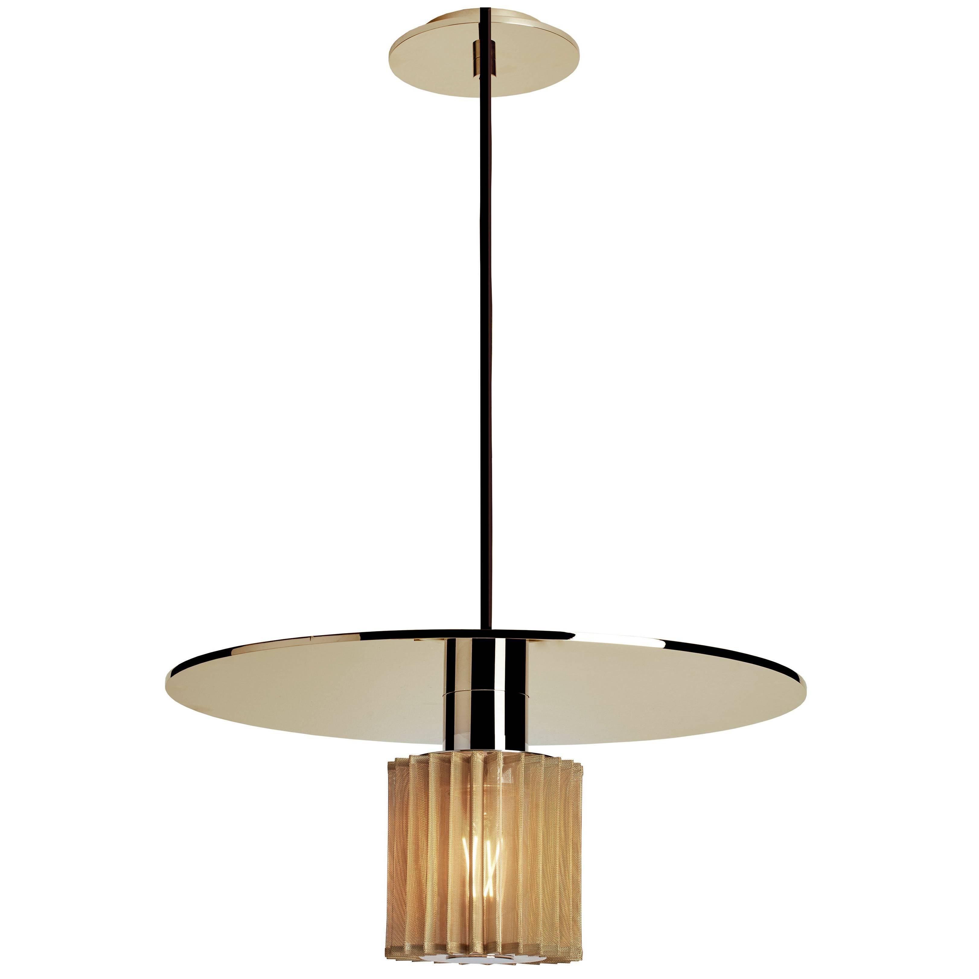 Groove Series Orb Pendant, Contemporary Handmade Glass Lighting - In ...
