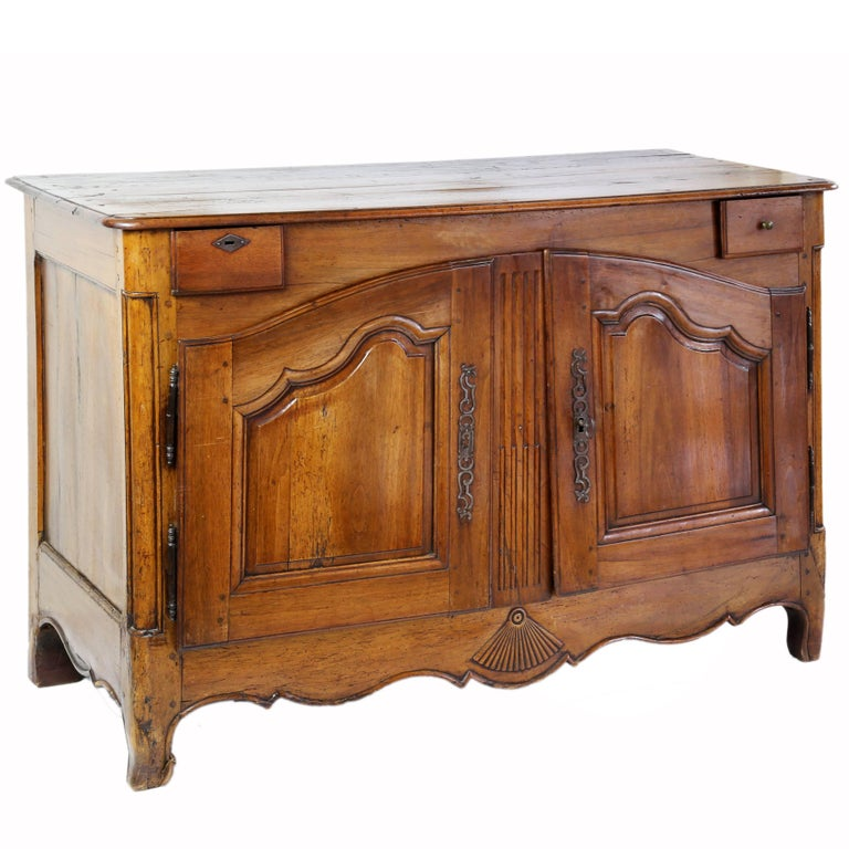 Late 18th Century French Provincial Walnut Sideboard