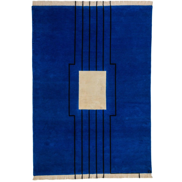 """""""Disobedience"""" Hand-Knotted Wool Rug by Carpets CC"""