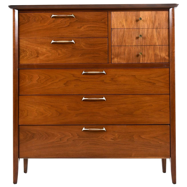Modern Drexel Highboy Dresser   Restored