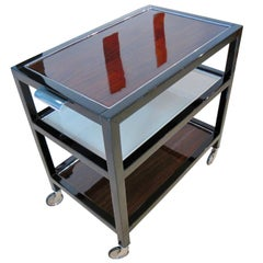 Art Deco Serving Trolley, France, circa 1940