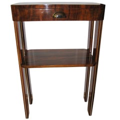 Small Art Deco Console with Drawer, France, circa 1930