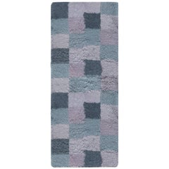 Bluebell Swedish Rya Rug