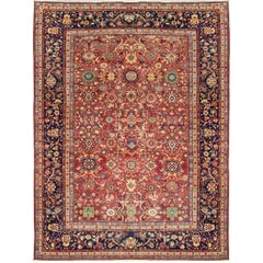 Antique Persian Sultanabad Rug, circa 1900