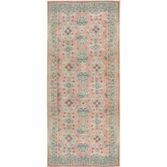 Antique Turkish Oushak Rug, circa 1900