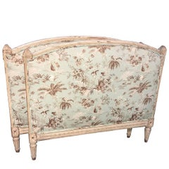 Antique French Louis XVI Painted Daybed