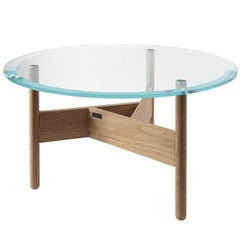 Orbital Glass Coffee Table