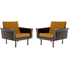 Pair of Johannes Spalt Lounge Chairs Armchairs by Wittmann, Austria, 1960s