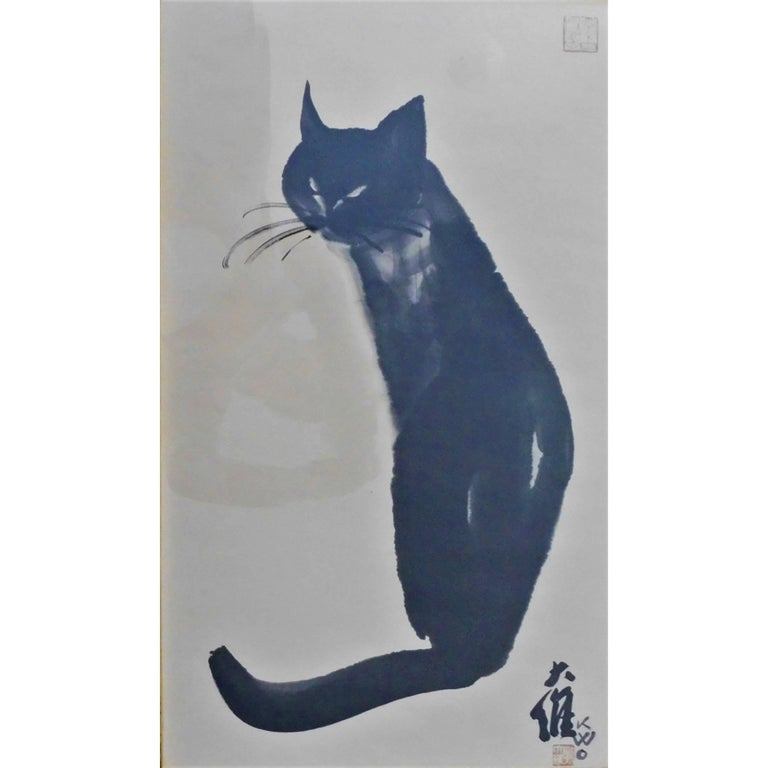 "Dr David Kwo Da-Wei Limited Edition Chinese Lithograph ""Kim"""