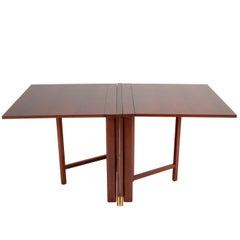 """Maria"" Folding Gate-Leg Dining Table by Bruno Mathsson"