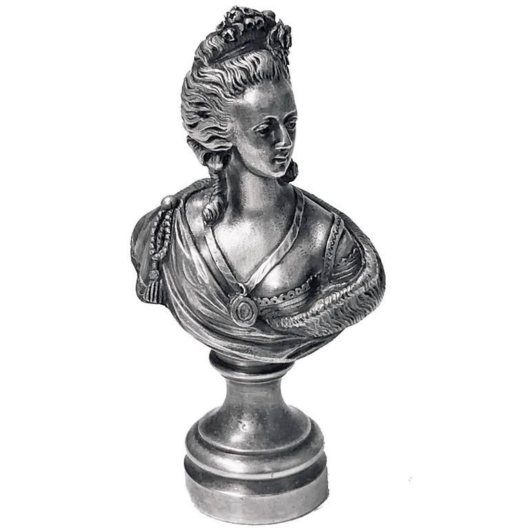 Rare 19th Century Desk Seal, Probably French, circa 1880