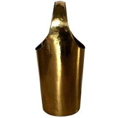 Hammered Brass Italian Umbrella Stand
