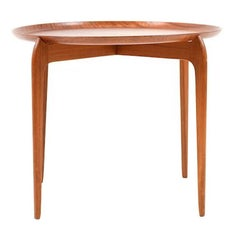 Tray Table in Teak by Willumsen & Engholm for Fritz Hansen 1958