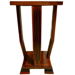 Art Deco Side Table, Mahogany, France, circa 1930