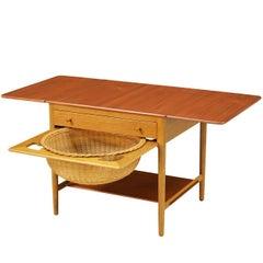 Hans J. Wegner Sewing Table Model AT-33 for Andreas Tuck