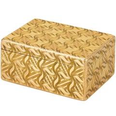 Louis XV French Gold Snuffbox by Germain Chayé