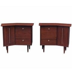 Pair of Modernist Bedside Cabinets
