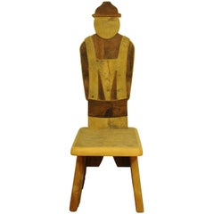Farmer Boy Throne Chair