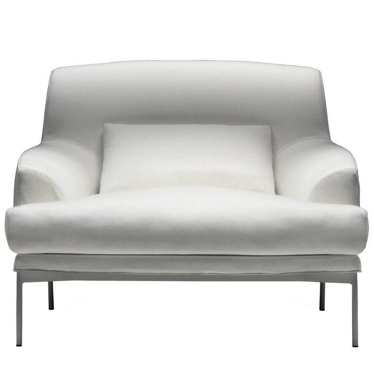 Montevideo White Armchair by Claesson Koivisto Rune