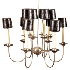 Modern Twelve-Light Chandelier