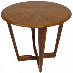 1960s Scandinavian Modern Style Teak Occasional Side Table