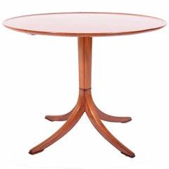 Frits Henningsen 1940s Mahogany Occasional Table