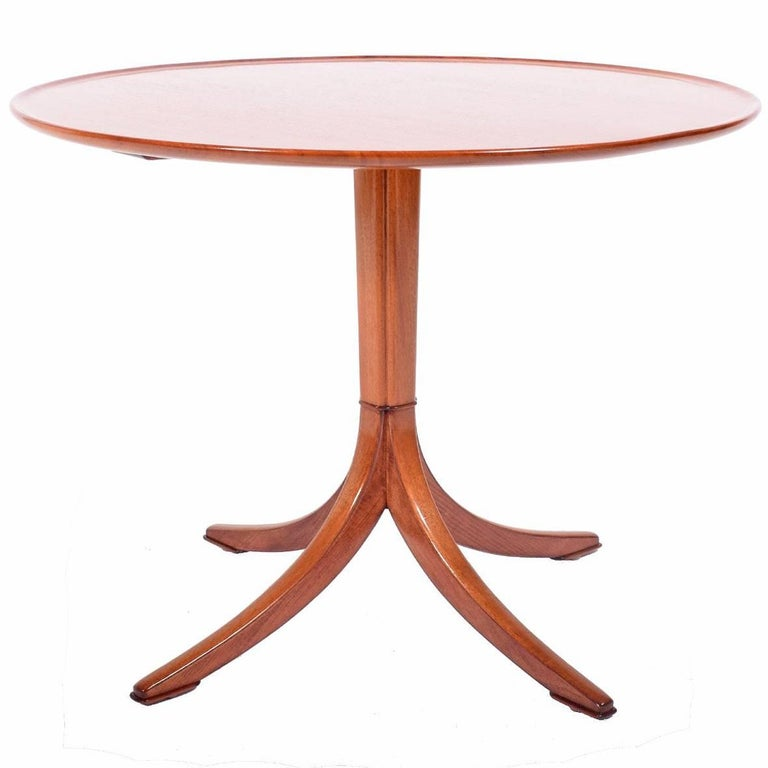 Frits Henningsen 1940s Mahogany Occasional Table For Sale