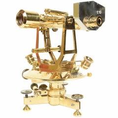 Brass Theodolite Signed Stanley, London
