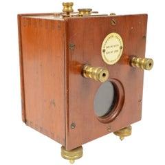 Mirror Galvanometer Made of Wooden Oak