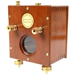 Mirror Galvanometer Made of Wooden Oak