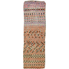 Moroccan Vintage Runner Rug