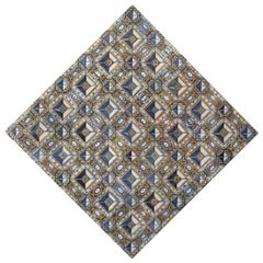 17th Century Diamond Pattern Azulejos