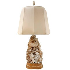 Carole Stupell Extraordinary Quartz Crystal Table Lamp, 1950s